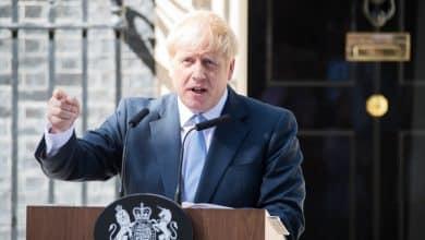 coronavirus British Prime Minister Boris Johnson