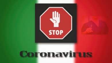 stop coronavirus italia