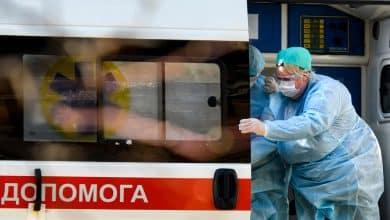 coronavirus ambulance moscow