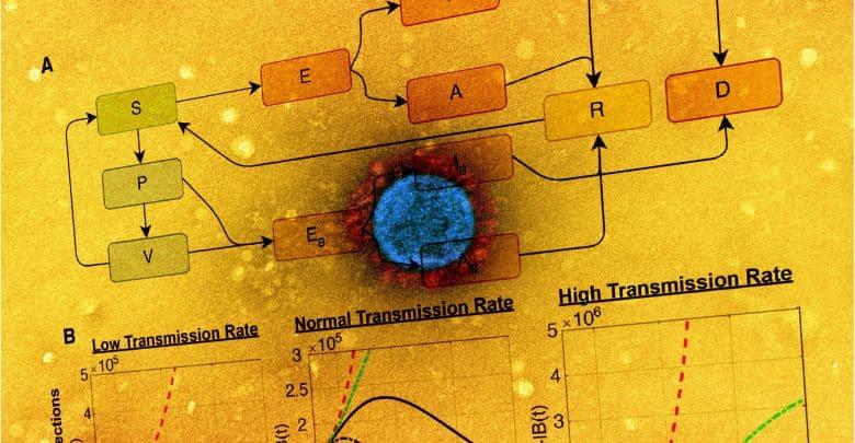 Design predicts SARS-CoV-2 distribute in vaccinated versus unvaccinated populations 1